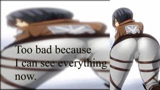 Mikasa Ackerman CEI - Be Her Little Cumslut (Femdom)