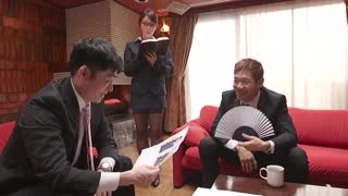 讓任性年輕社長更生的知性淫語吊帶襪秘書 大島優香 JUL-018