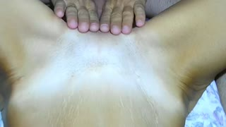 My husband lick & fuck my pussy and eats own cum. (close up pussy fuck)