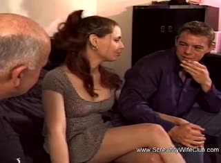 Threesome With Two Swinger Wives Experiencing Arousement