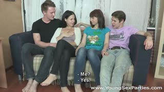 Young Sex Parties - Dasha - Evelyn Cage - Double sex after a double date