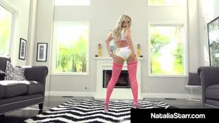 Sexy Fuckstar Natalia Starr Ass Plugs & Dildo Bangs Cunt!
