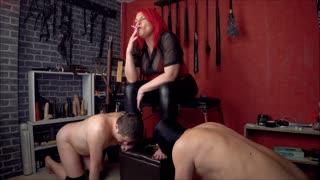 Goddess Andreea Humiliation Suck Eachother
