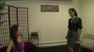 Sadie Holmes Worships Jamie Daniels
