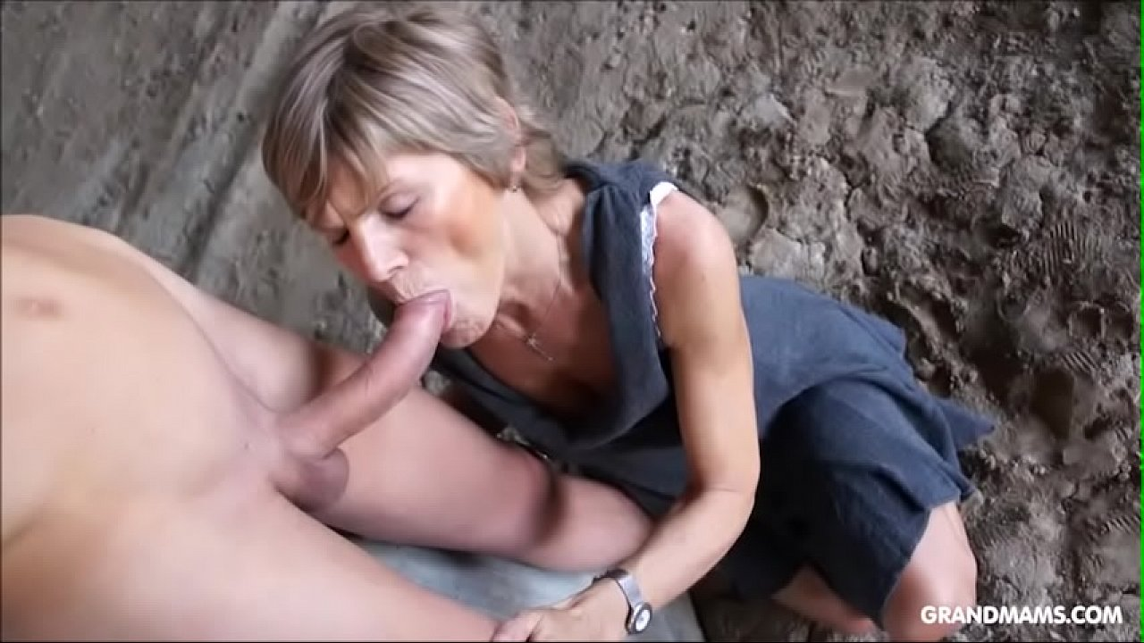 Grandmams just love young cocks Compilation