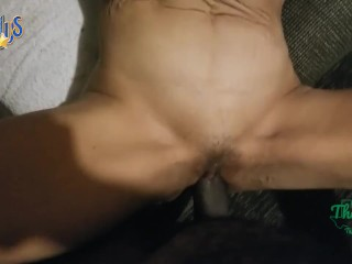 Thotintexas.club round 1 with mature latina thot in texas stuffing into older pussy lube shove it in
