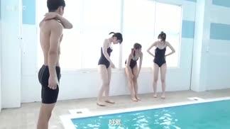 SSIS-099被學校泳裝控鎖定了…~被黏著跟縱狂瘋狂偷拍而全部裸露被輪姦的制服少女
