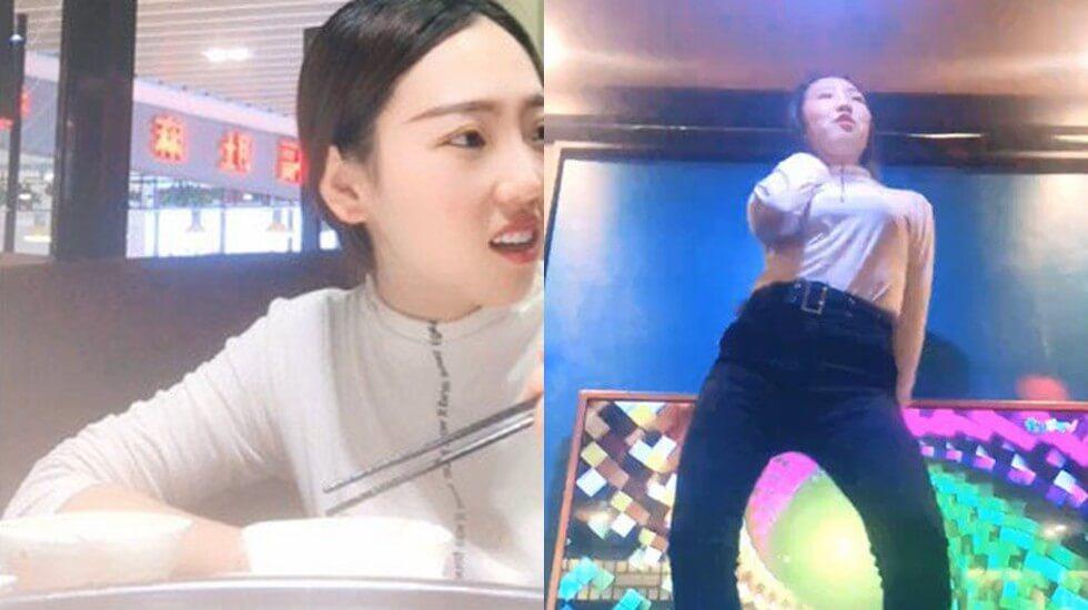 实力演技派《杨导撩妹》尾随身材不错的美女请吃饭K唱K裸舞跳的非常不错