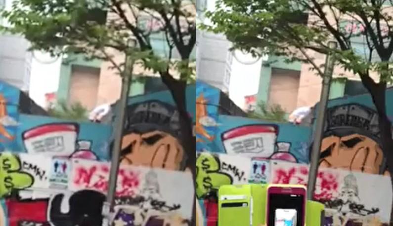 [韩国] 当我们相爱在弘大~大学生情侣档当街啪啪!!沉浸在性爱里的人是不会注意到附近在鼓譟的!!