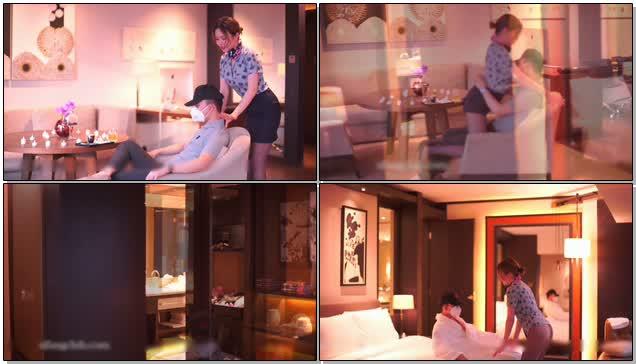 空姐兼职外围女黄某然酒店给富二代提供特殊服务